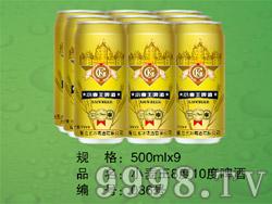 小麦王啤酒8°10°500ml×9