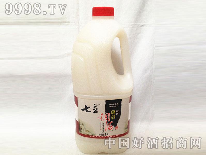七立桂花特制稠酒2.5L