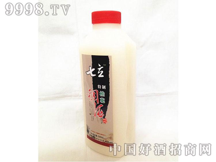 七立桂花特制稠酒640ml