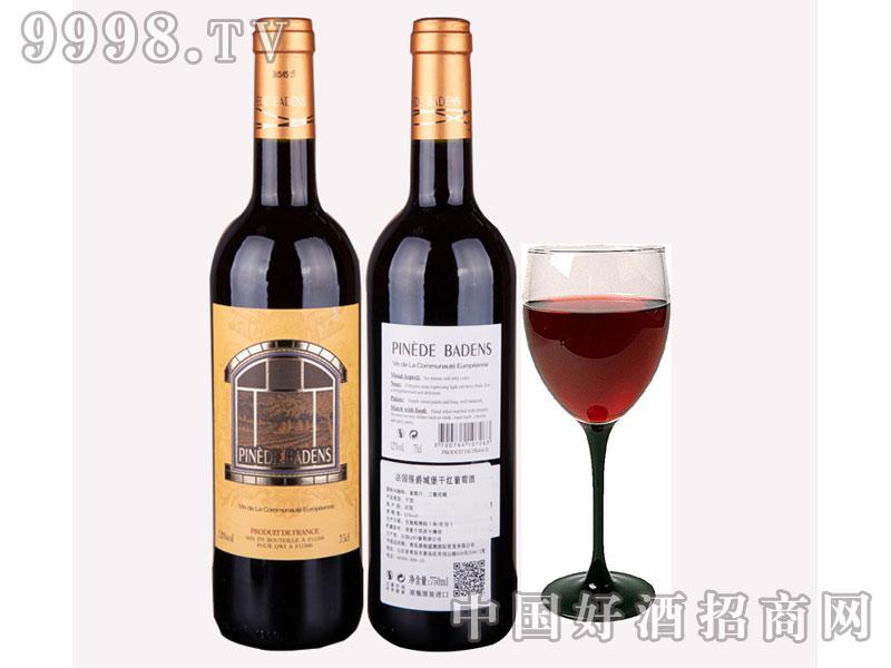 法国原装进口红酒-锡爵城堡赤霞珠葡萄酒
