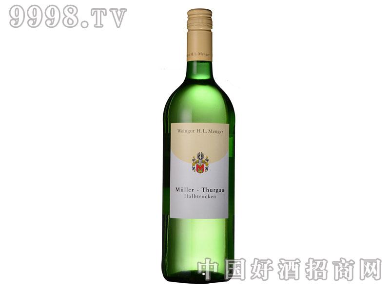 德国进口红酒-明歌酒庄半干白葡萄酒
