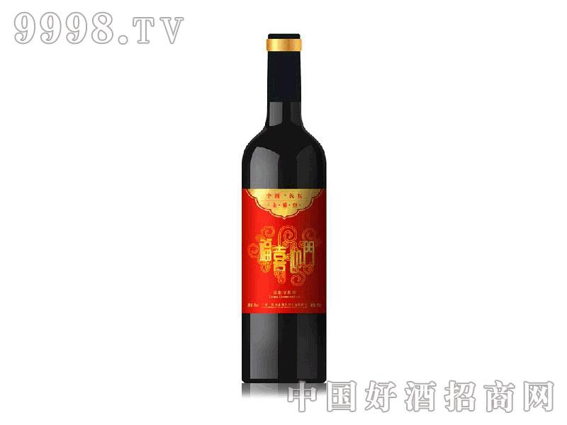 福喜迎门葡萄酒瓶