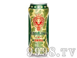 锐狮啤酒军罐500ml