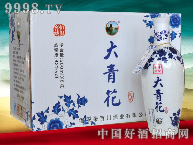 老白干酒-大青花38、42度(500mlx8瓶)