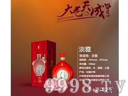 泸州老窖酒道师之淡雅酒型