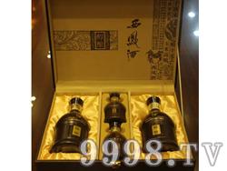 醇酿西凤酒之红醇礼品盒52度