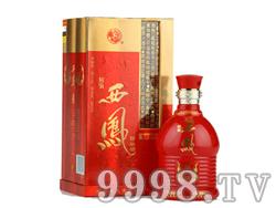 醇酿西凤酒之红特醇45度