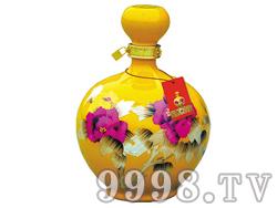 玉液春珍藏酒-黄花瓷