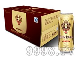 锐狮啤酒经典8°-500mlx12听