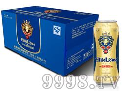 锐狮啤酒经典8° 500mlx12听