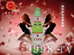 北方啤酒-北方佳人330ml(绿高瓶)