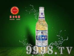 北方啤酒-10度银色麦浪500ml(白瓶)