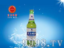 北方啤酒-10度银色麦浪500ml(绿瓶)