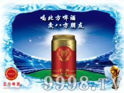 北方啤酒-红灌装330ml