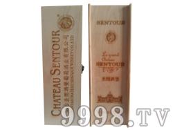 圣图酒堡单支木盒-3