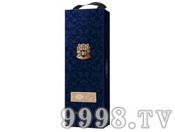 圣图酒堡单支彩盒蓝
