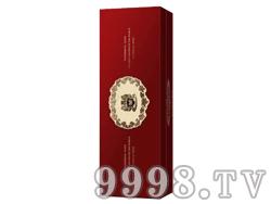 圣图酒堡单支彩盒红