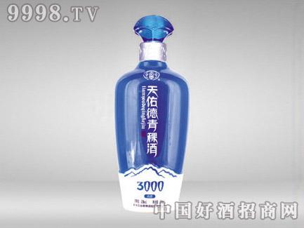 奥烽玻璃瓶天佑德青稞酒CP-145