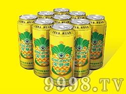 艾力士菠萝啤酒罐装500ml