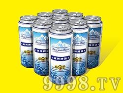 艾力士冰纯啤酒500ml
