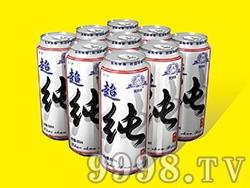 艾力士超纯啤酒罐装500ml