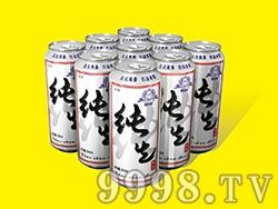 艾力士纯先啤酒500ml