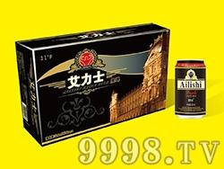 艾力士黑啤酒金卡320ml