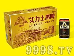 艾力士木桶黑啤酒金卡