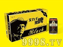 艾力士牛仔黑啤酒金卡
