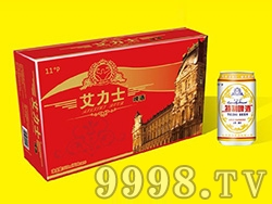 艾力士啤酒红箱装