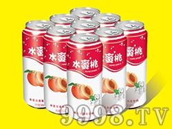 艾力士水蜜桃果啤罐装