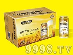 艾力士小麦王啤酒500ml