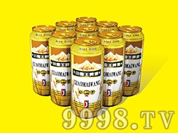 艾力士小麦王啤酒罐装500ml
