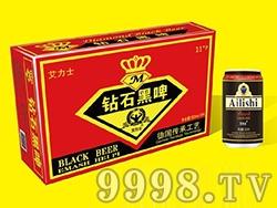 艾力士钻石黑啤酒金卡