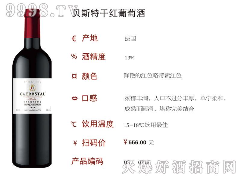 贝斯特干红葡萄酒2010(0218)