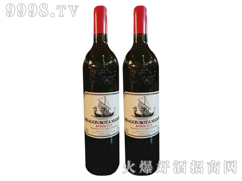 法国黑龙船干红葡萄酒750ml