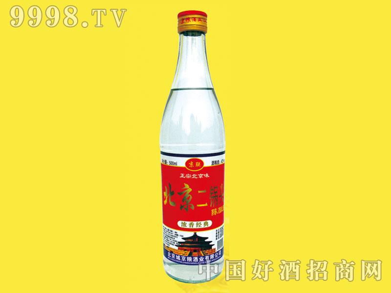 北京二锅头酒陈酿酒42度浓香型
