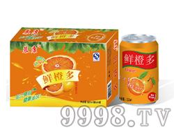 慕康鲜橙多饮料