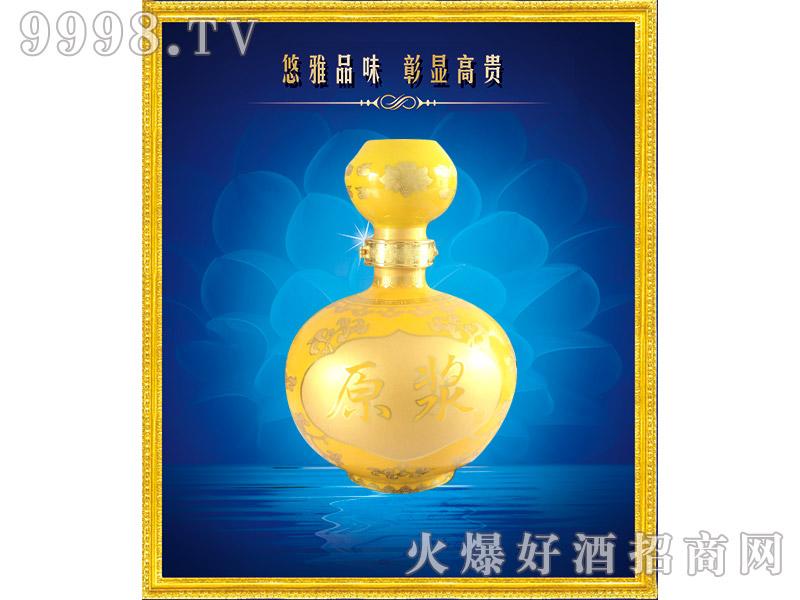 宗河春原浆酒黄瓷