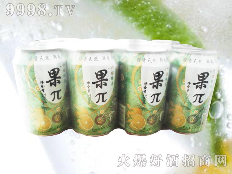 果兀柠檬绿茶果味饮料塑包