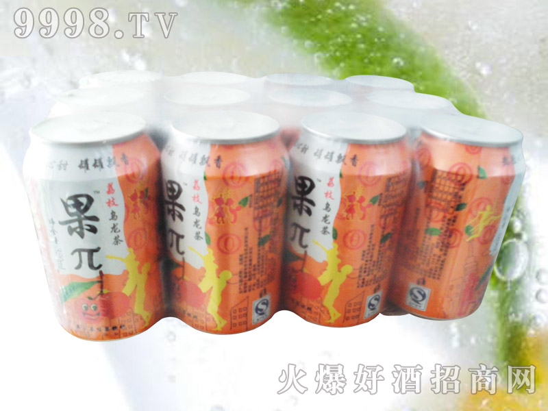 果兀荔枝乌龙茶果味饮料塑包