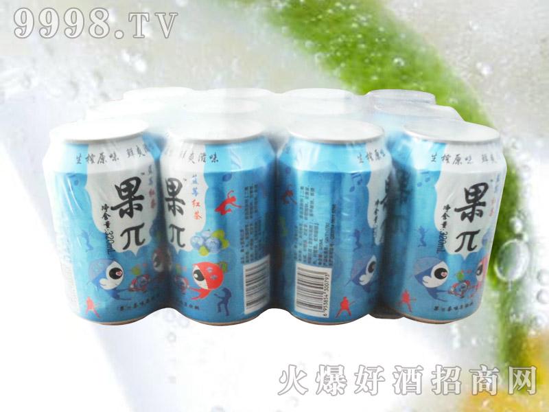 果兀蓝莓红茶果味饮料塑包