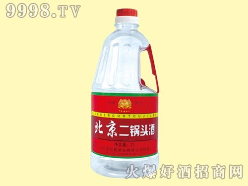 北京二锅头酒红桶装2L