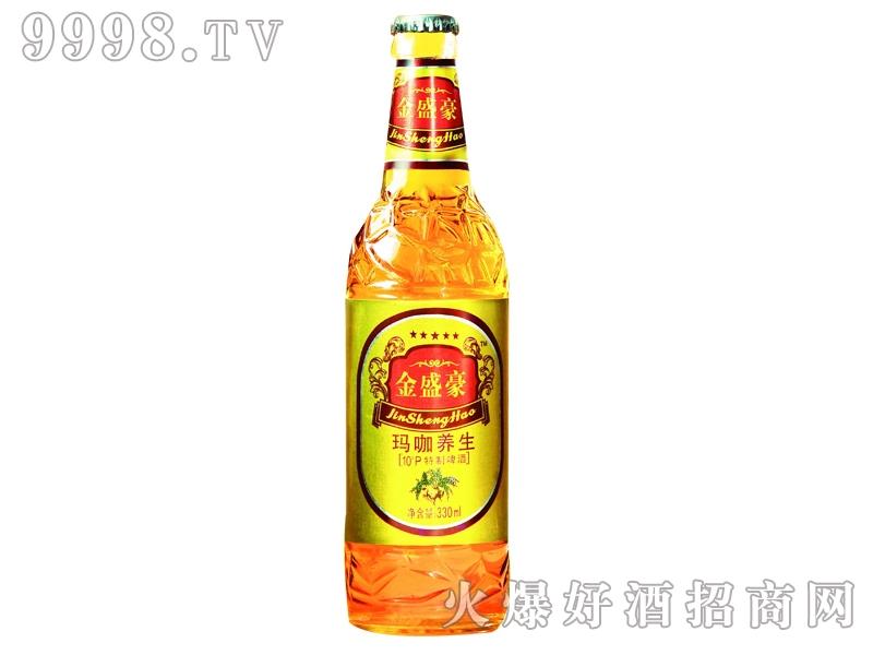 金盛豪玛咖养生特制啤酒330ml