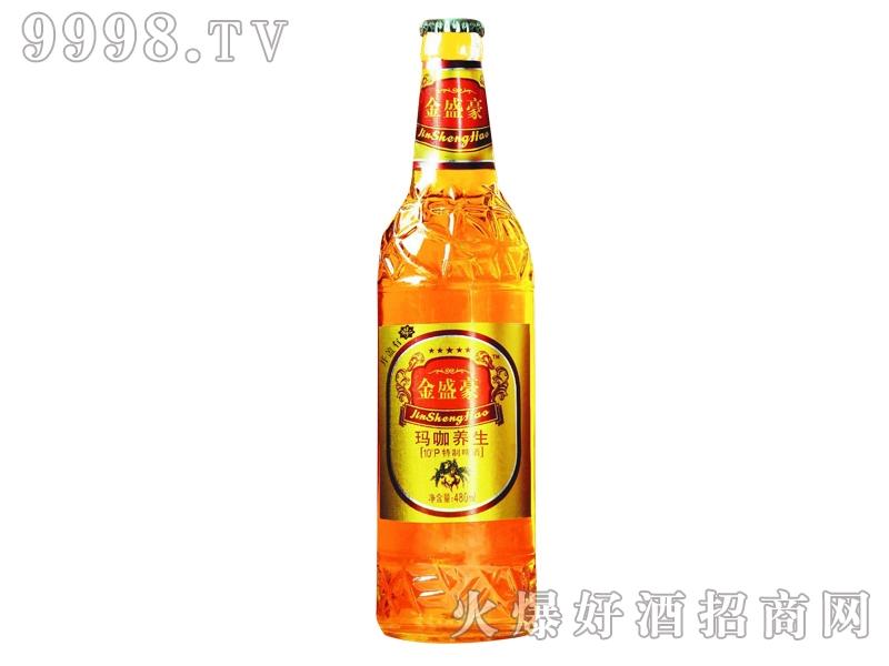 金盛豪玛咖养生特制啤酒480ml