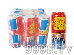 泸江啤酒罐装福