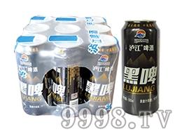 泸江啤酒罐装黑啤