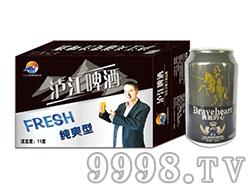 泸江啤酒纯爽型