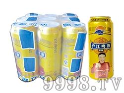 泸江啤酒原酿罐装