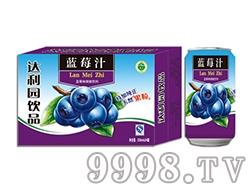 达利园蓝莓汁饮料